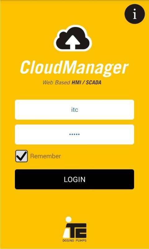 ITC Cloud Manager screenshot 1