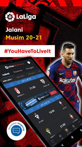 La Liga - Sepak bola dan Hasil Pertandingan screenshot 11
