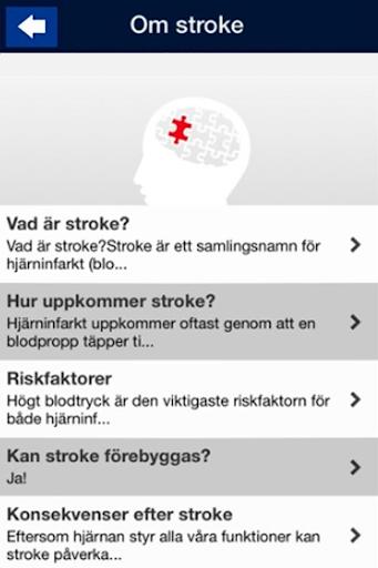 AKUT Stroketest STROKE - Riksförbundet screenshot 2
