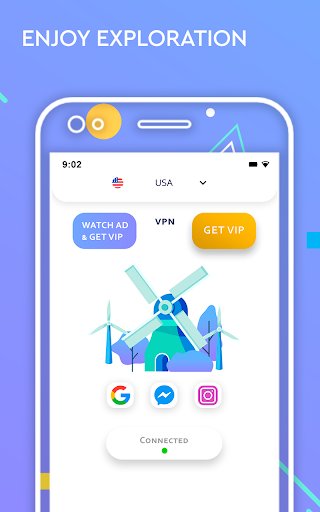 The Best VPN Hotspot Master - Free Proxy Shield स्क्रीनशॉट 2