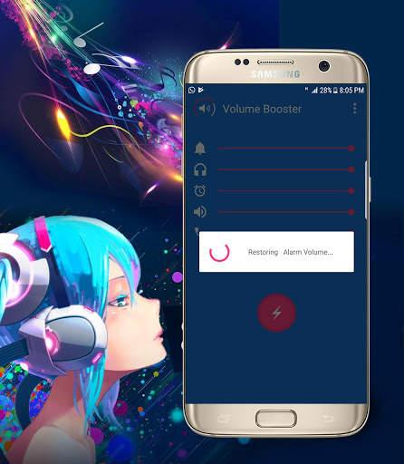 Volume Booster & Speaker Boost screenshot 2
