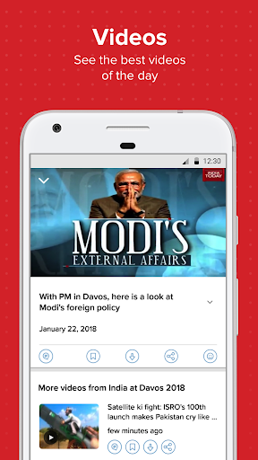 Latest English News & Free Live TV by India Today 3 تصوير الشاشة