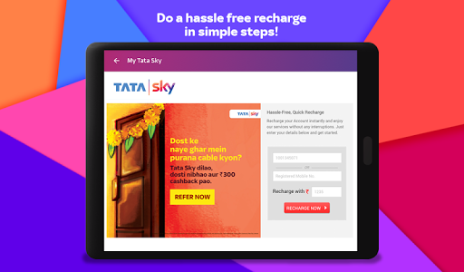 Tata Sky Mobile- Live TV, Movies, Sports, Recharge 13 تصوير الشاشة