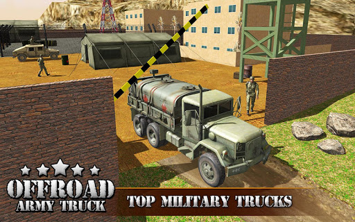 US OffRoad Army Truck driver 2020 screenshot 11