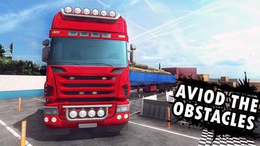 Big Truck Parking Simulation - Truck Games 2021 screenshot 4