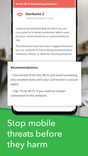 Mobile Security, Antivirus, ID Protection: Lookout screenshot 5
