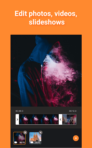 Free Vlog Maker, Music Video Editor - Pelicut screenshot 1