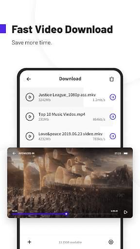 UC Browser Turbo- Fast Download, Secure, Ad Block screenshot 5