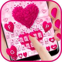 Thème de clavier Pink Love on APKTom