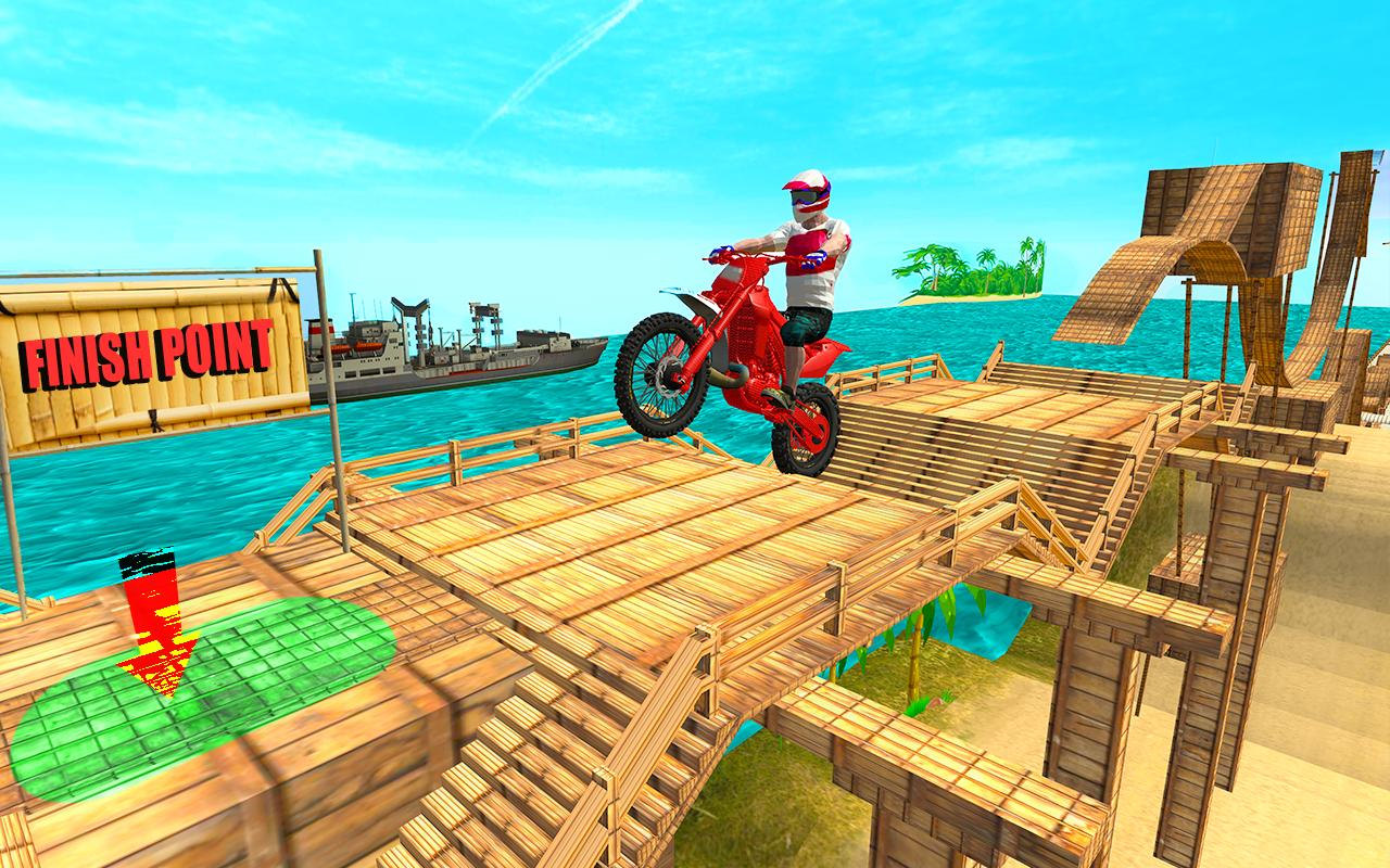Tricky Bike Moto Stunt Rider screenshot 4