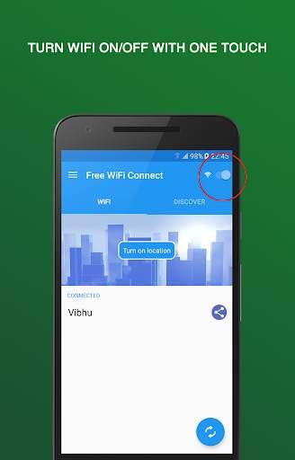 Бесплатный Wi-Fi соединение screenshot 1