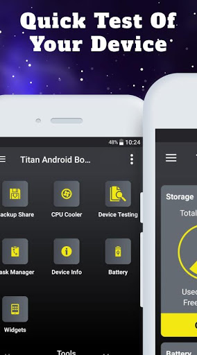 Titan Booster - Instantly Speed Up Your Phone screenshot 6