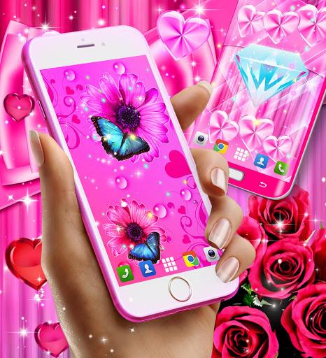 Wallpapers for girls 4 تصوير الشاشة
