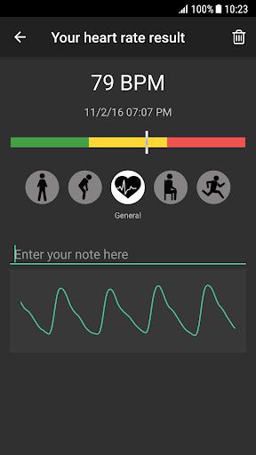 Heart Rate Plus: Pulse Monitor screenshot 2