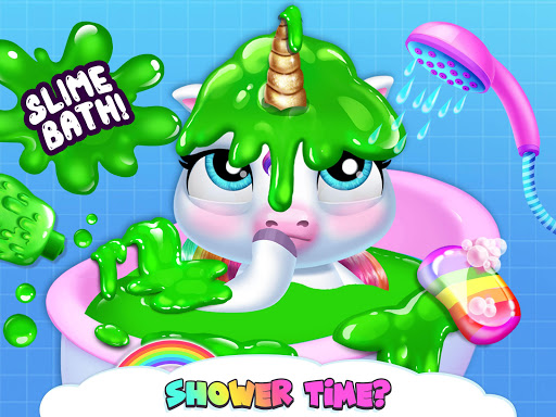 My Baby Unicorn - Virtual Pony Pet Care & Dress Up 16 تصوير الشاشة
