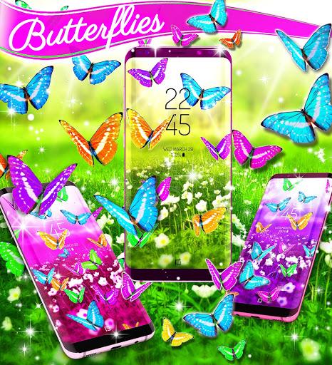 Butterflies live wallpaper 6 تصوير الشاشة