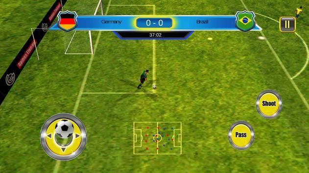 Soccer World Cup 2014 screenshot 13