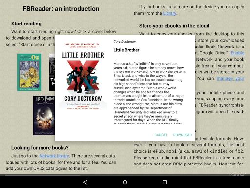 FBReader: Favorite Book Reader screenshot 16