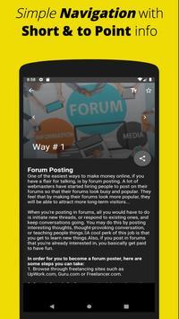 Make Money Online: Free Work from Home Ideas App screenshot 3