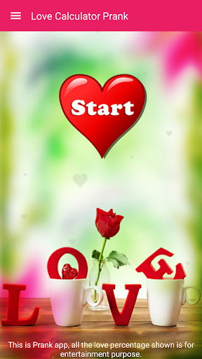 Love Test Calculator Prank 2 تصوير الشاشة
