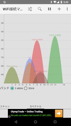 WiFi 接続マネージャー screenshot 2