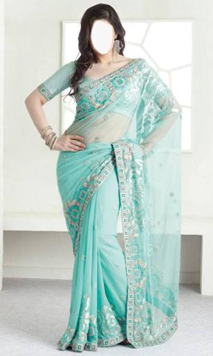 Indian Woman  Designer Saree 2 تصوير الشاشة