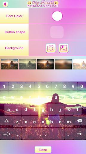 الخلفية لوحة المفاتيح 7 تصوير الشاشة