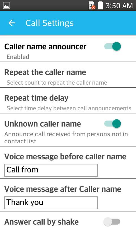 Caller Name Announcer - Speaker - Ringtone maker 8 تصوير الشاشة
