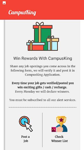 CampusKing-Referral Drives,Jobs for Engineers 5 تصوير الشاشة