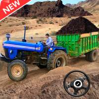 New Tractor trolley Farming Cargo Driver 3D on APKTom