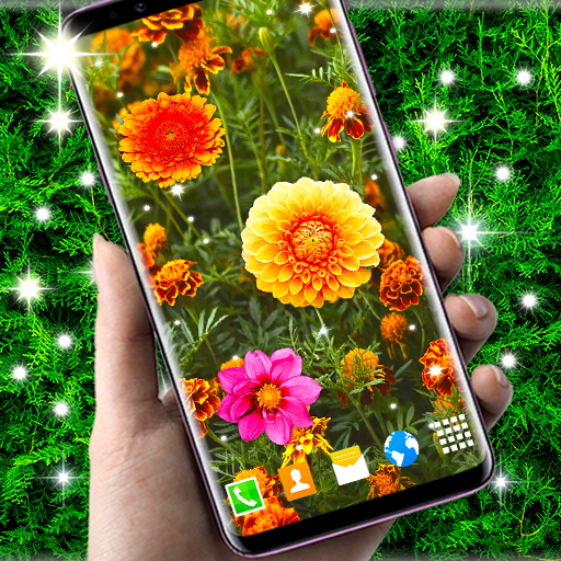 Autumn Flowers 4K Live Wallpaper ❤️ Forest Themes иконка