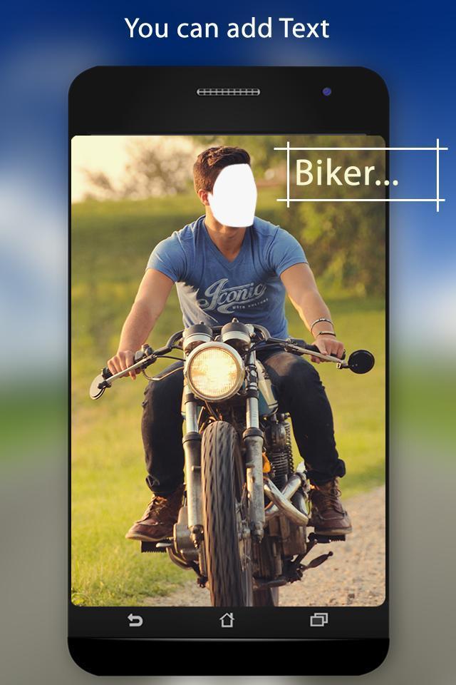 Bike Photo Suit screenshot 2