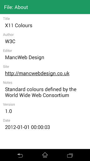 Colour Viewer screenshot 4