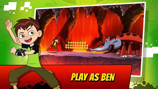 Ben 10 Alien Run 1 تصوير الشاشة
