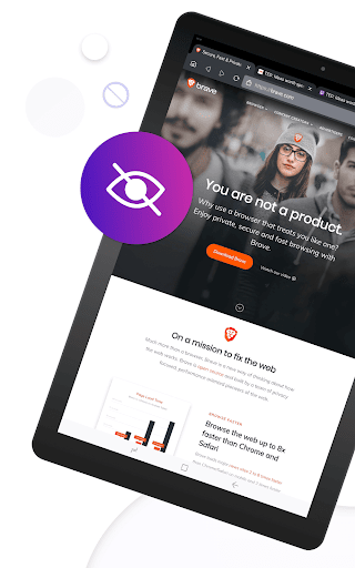 Brave Private Browser: Fast, secure web browser 13 تصوير الشاشة