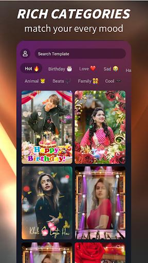 Mast - Video Status Maker App screenshot 1