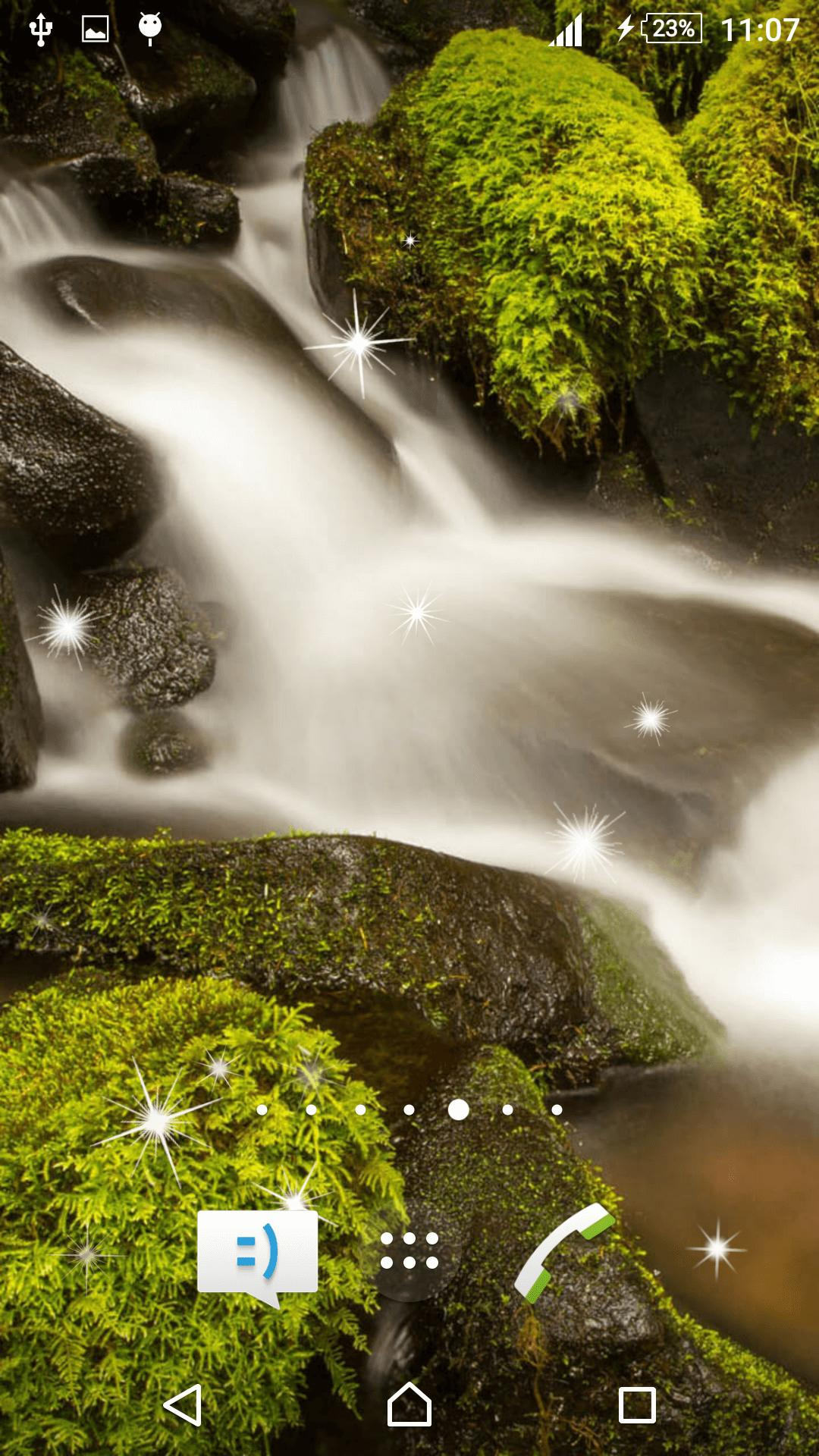 Waterfall Live Wallpaper screenshot 1