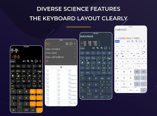 HiEdu Scientific Calculator : He-570 screenshot 4