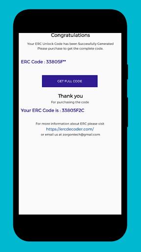 ERC Decoder / Unlocker screenshot 2