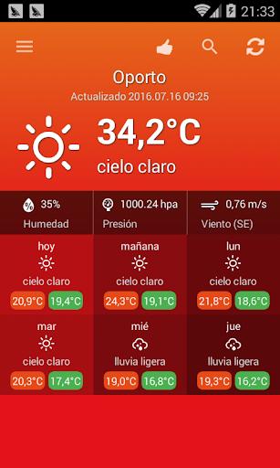 El tiempo Portugal screenshot 2
