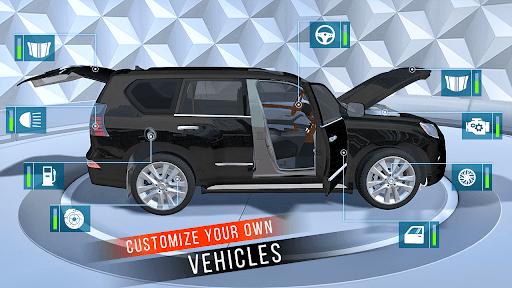 Car Parking Simulator Games: Prado Car Games 2021 screenshot 4