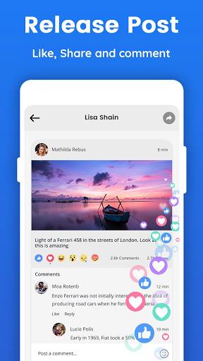 Lite for Facebook - Quick Chat for Messenger 5 تصوير الشاشة