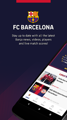 FC Barcelona Official App 1 تصوير الشاشة