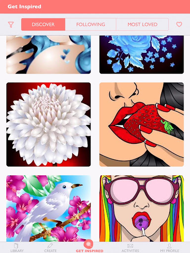 Colorfy: Free Coloring Games - Paint Color Book screenshot 3