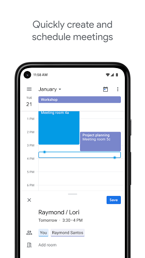 Google Calendar screenshot 2