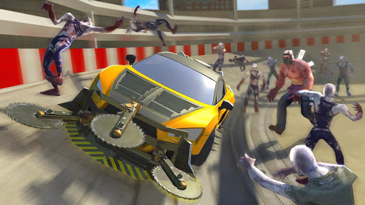 Zombie Smash : Road Kill screenshot 5