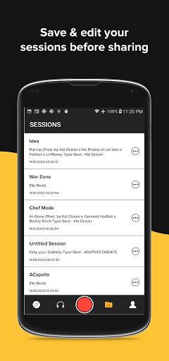 OffTop Studio: Record, Rap & Sing over Beats screenshot 4