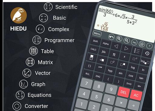 HiEdu Scientific Calculator : He-570 1 تصوير الشاشة