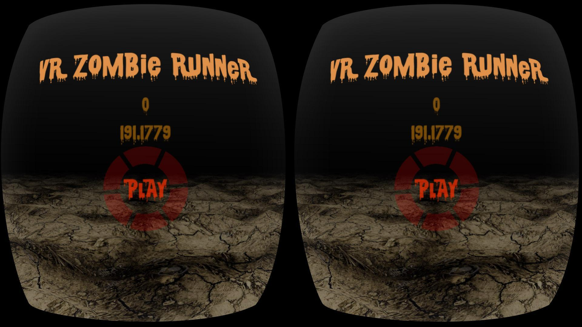 VR Zombie Runner 1 تصوير الشاشة