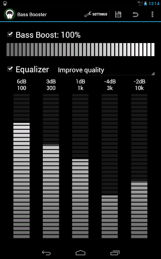 Bass Booster - Music Equalizer screenshot 5